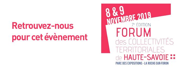 Forum des collectivités territoriales de Haute-Savoie