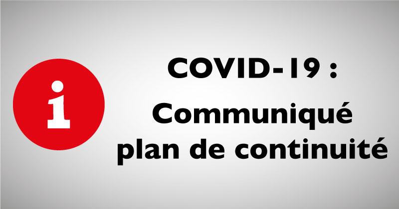 COVID-19 : COMMUNIQUE VALLIER PRODUITS PETROLIERS